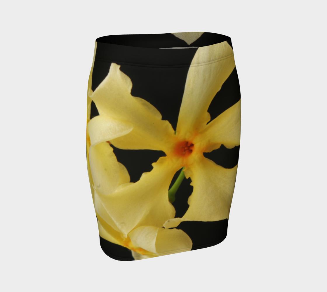 Star Jasmine Flower Wrap Skirt preview