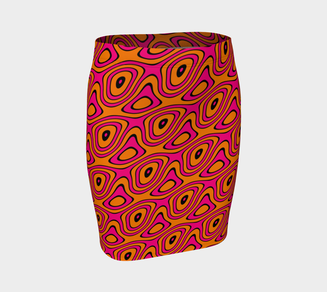 Wild and Loopy in Pink and Orange preview