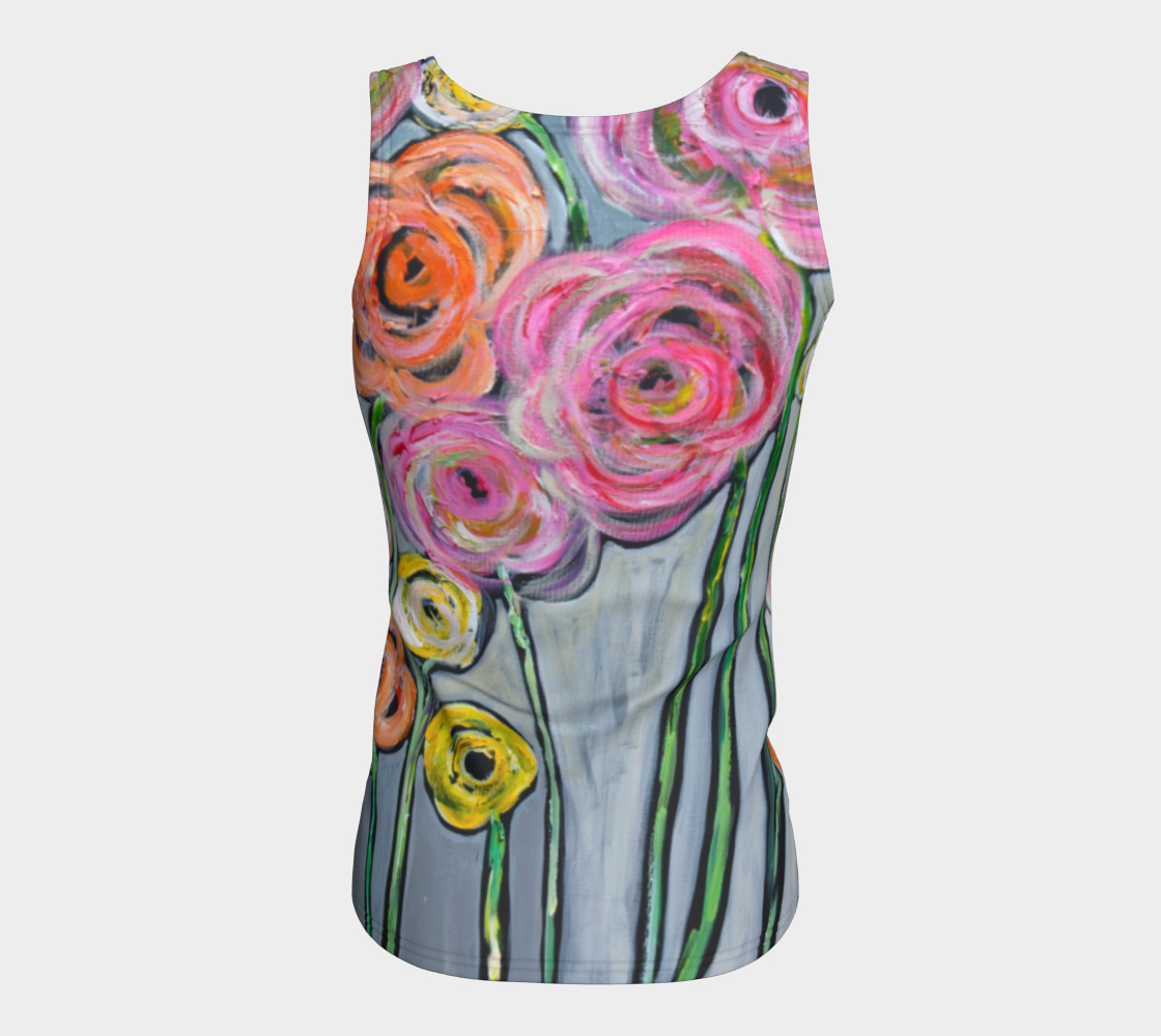 Bloom where you are planted  best fitted tank top preview #6
