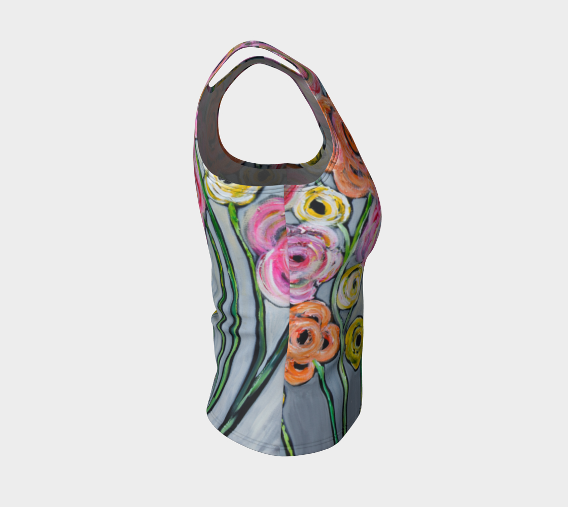 Bloom where you are planted  best fitted tank top preview #4