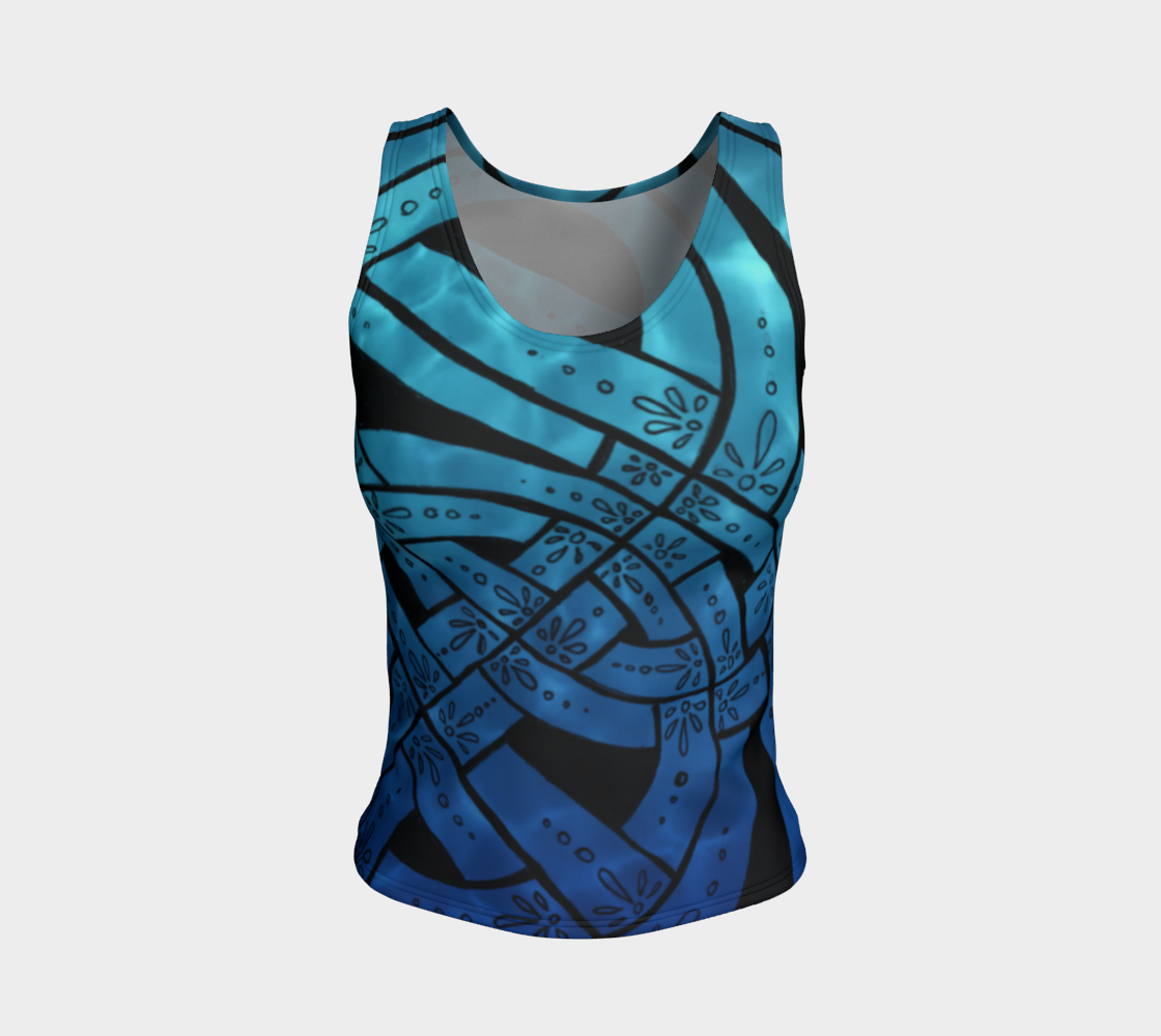 Suboceana I I, Celtic Reflective Pool, Celtic Knot Tank Top preview