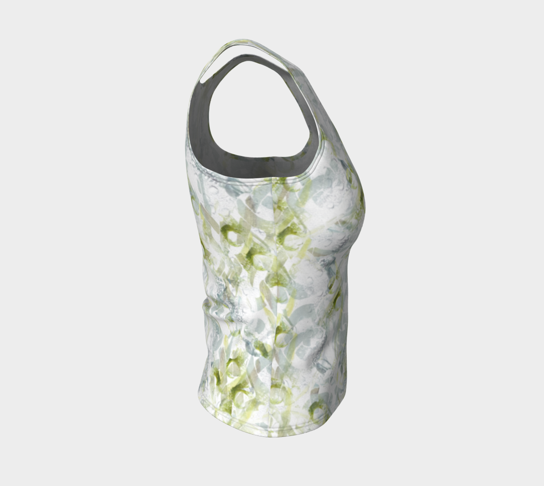 Spring Equinox Fitted Tank Top by Laura Davis Art Studio preview #4
