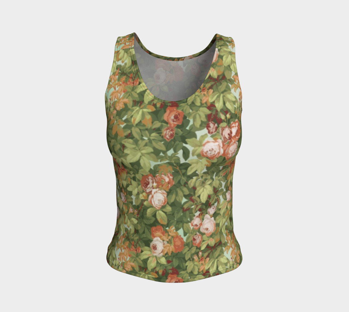 Roses Fitted Tank preview