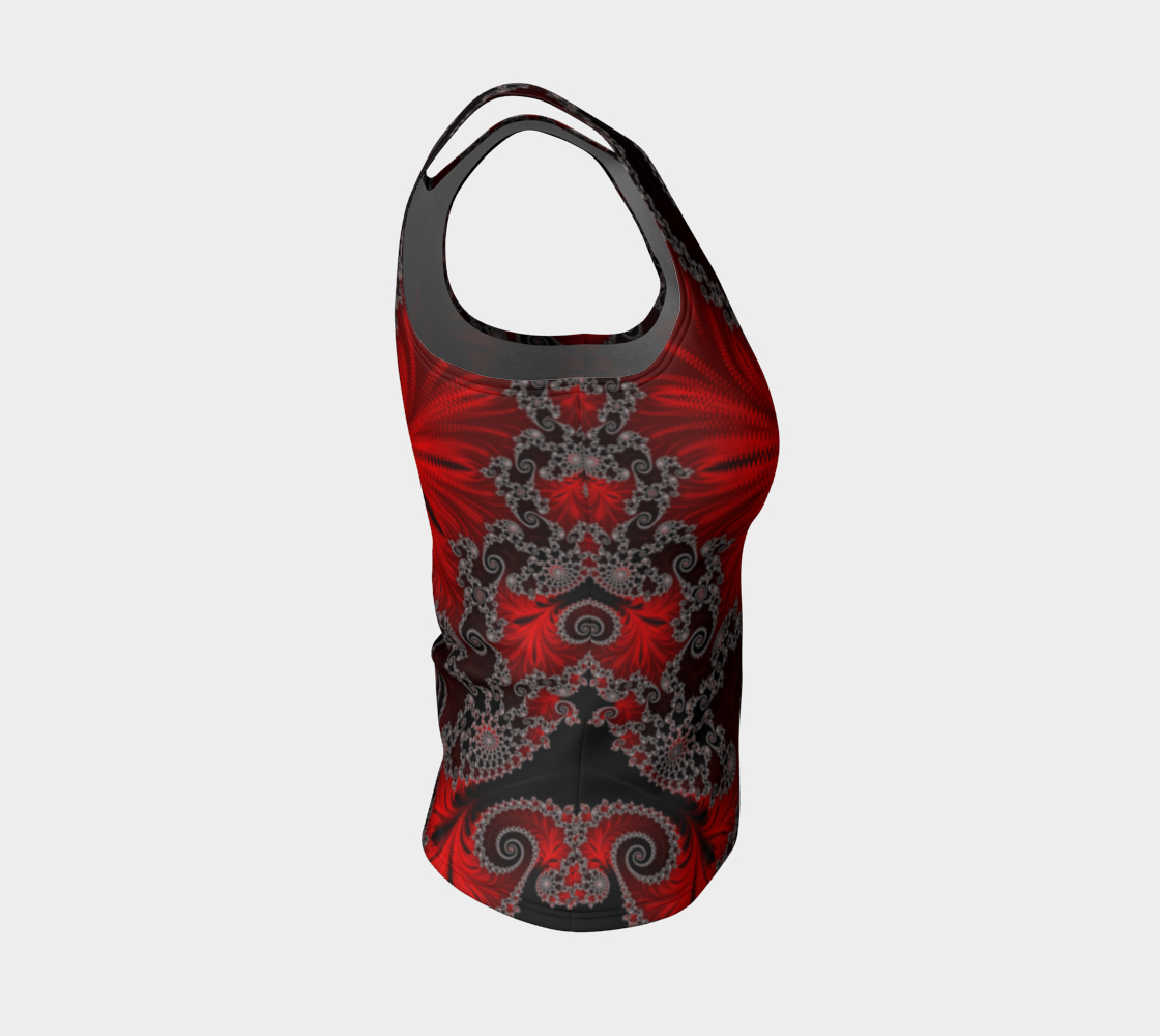 Eruption Fitted Tank Top preview #4
