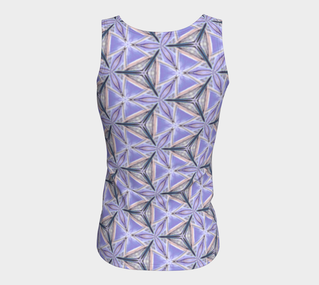 Lilac Bliss Fitted Tank Top preview #6