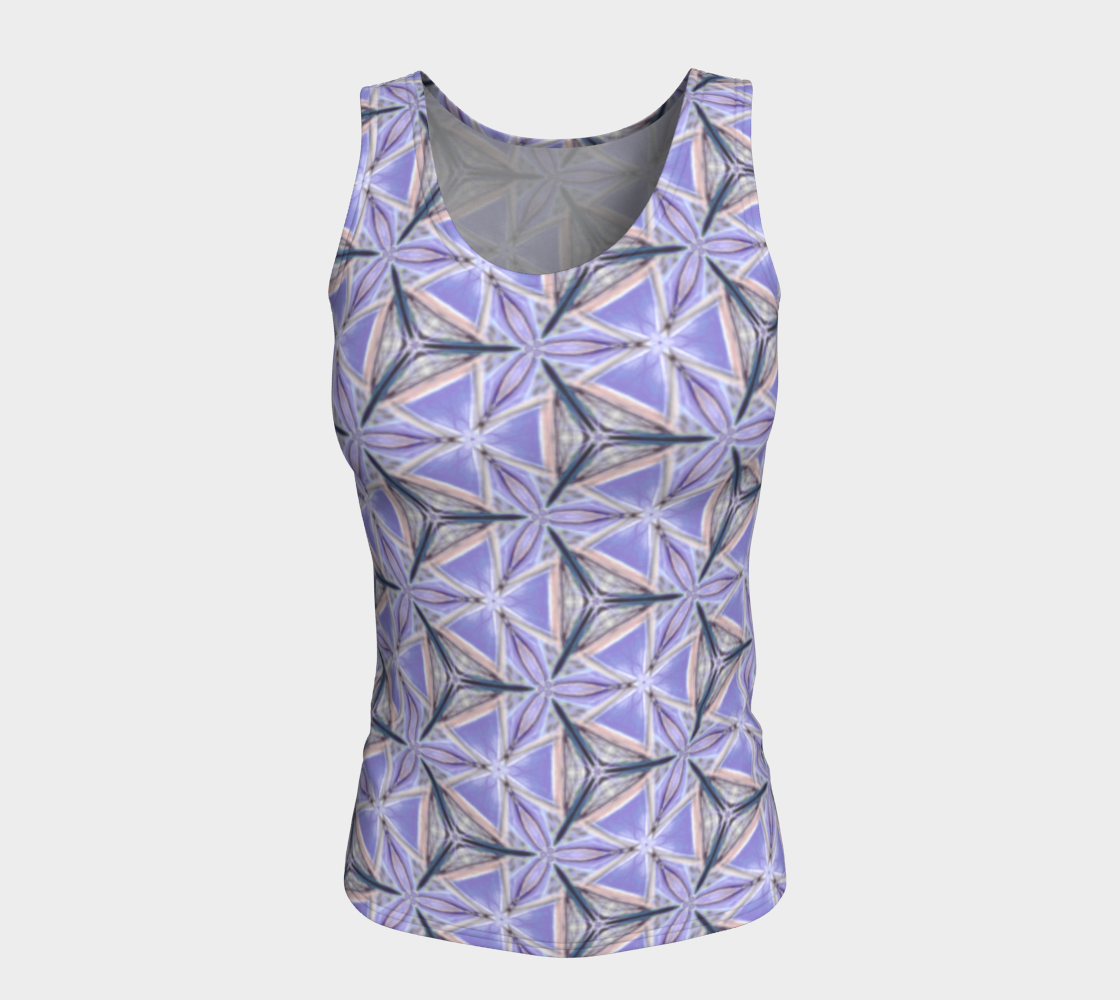 Lilac Bliss Fitted Tank Top preview #5