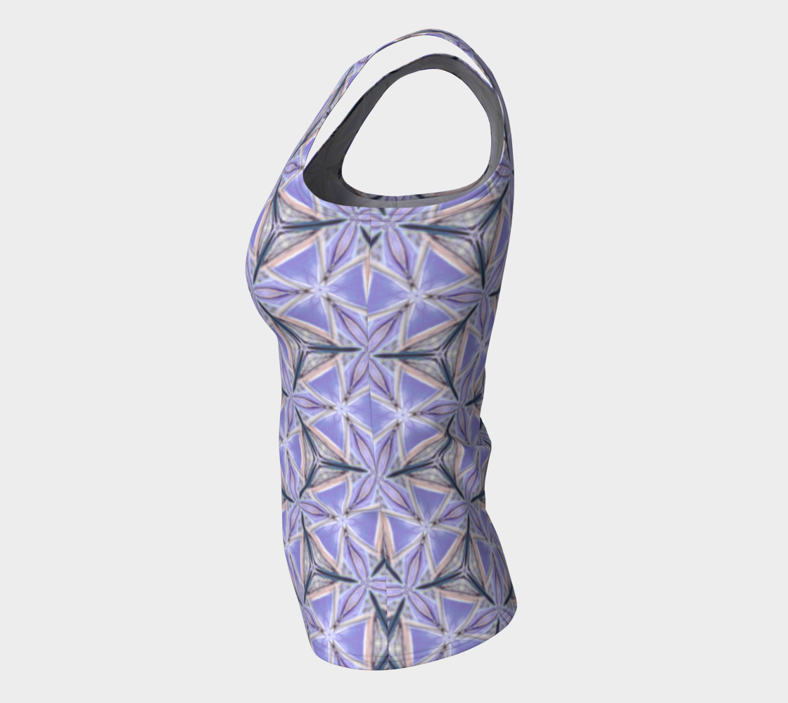 Lilac Bliss Fitted Tank Top preview #7