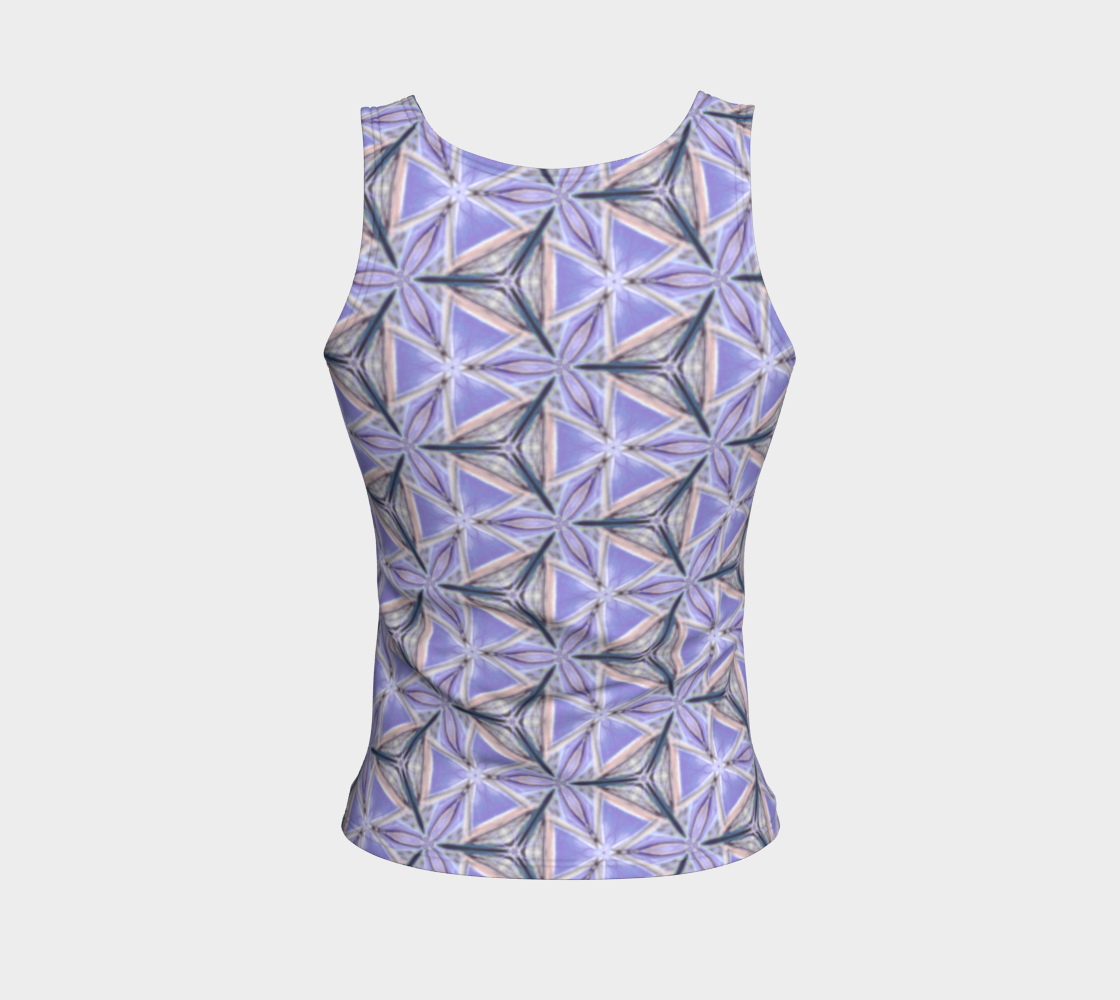 Lilac Bliss Fitted Tank Top preview #2