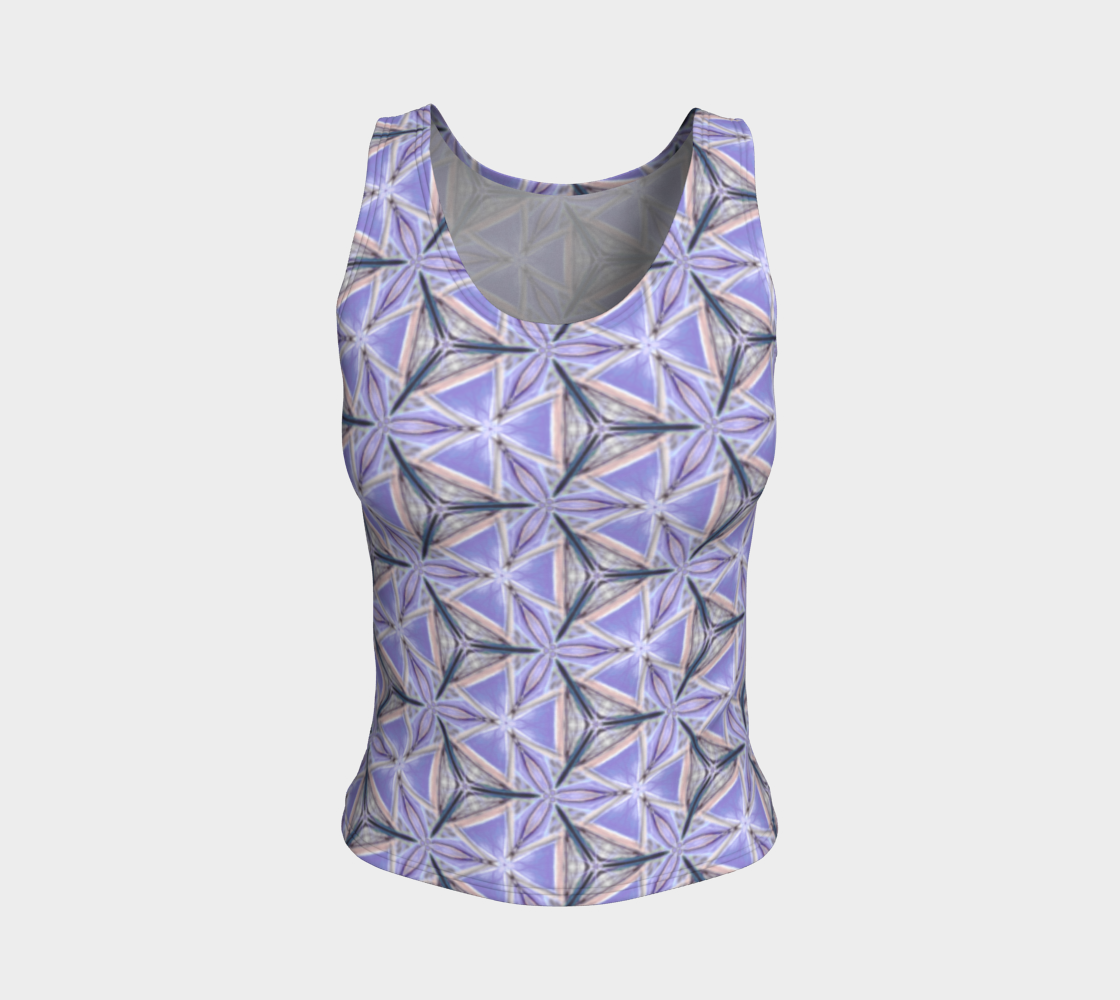 Lilac Bliss Fitted Tank Top preview