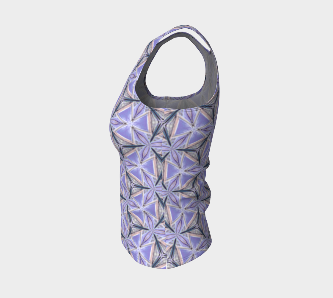 Lilac Bliss Fitted Tank Top preview #3