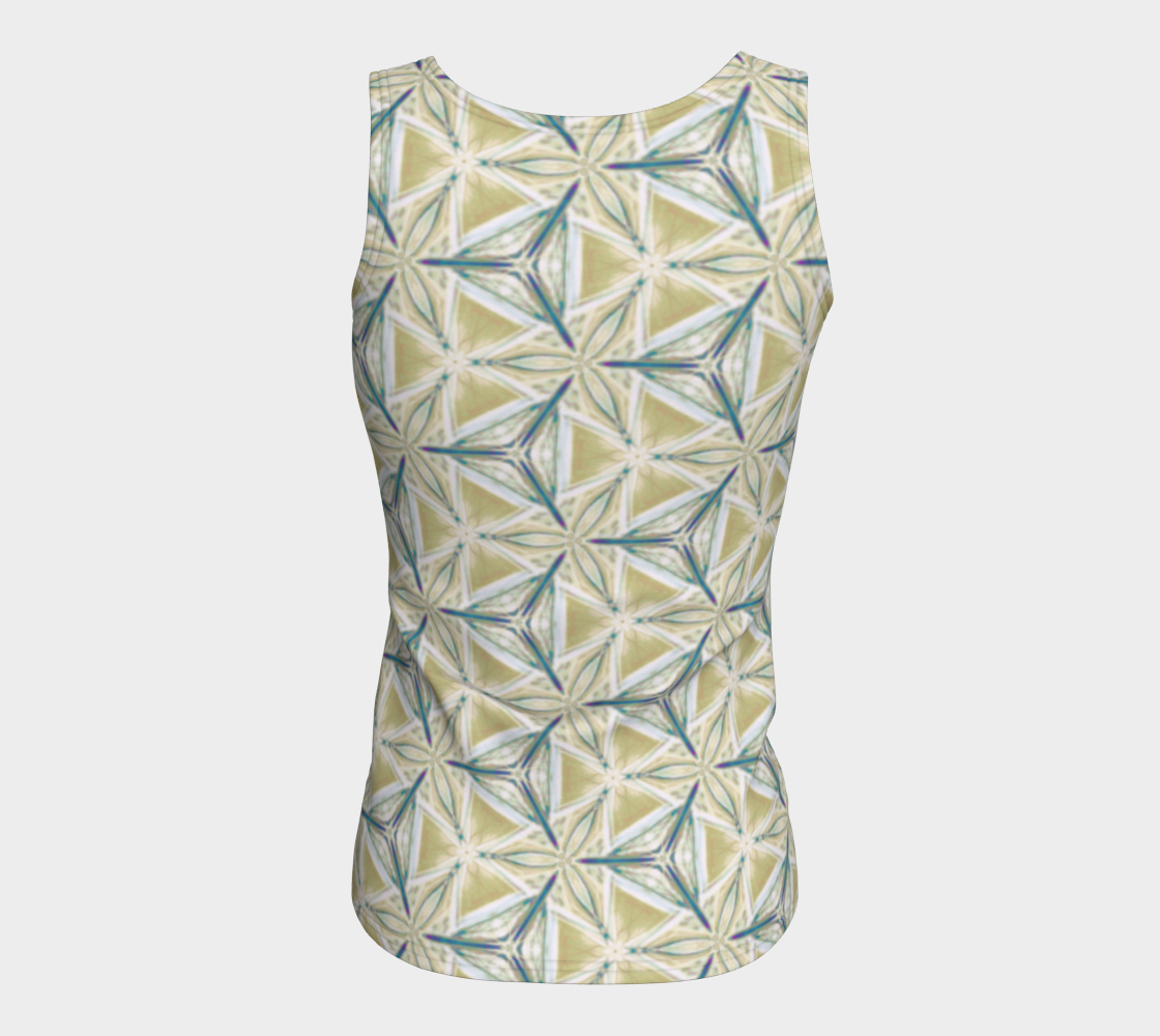 Avocado Pattern Fitted Tank Top preview #6