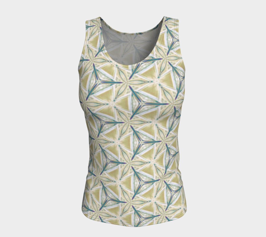 Avocado Pattern Fitted Tank Top preview #5