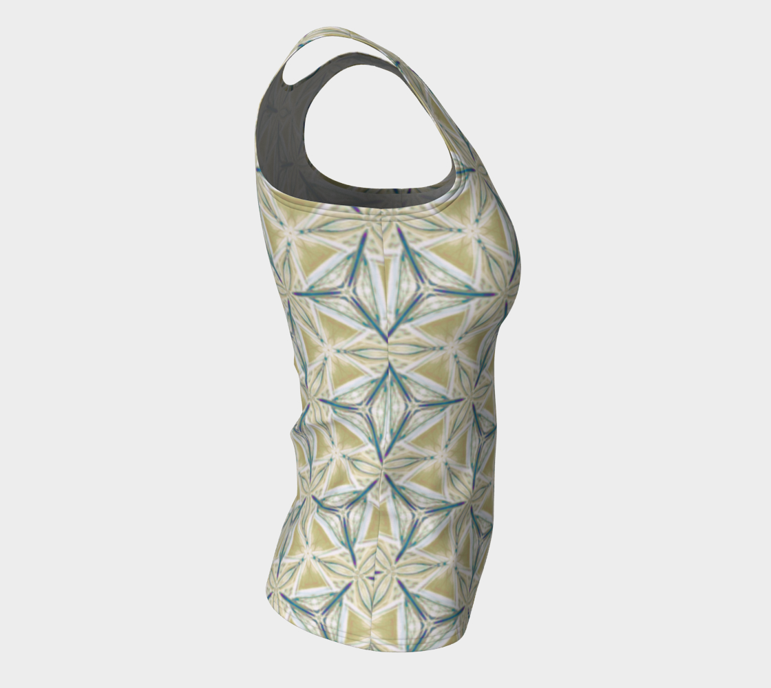 Avocado Pattern Fitted Tank Top preview #8