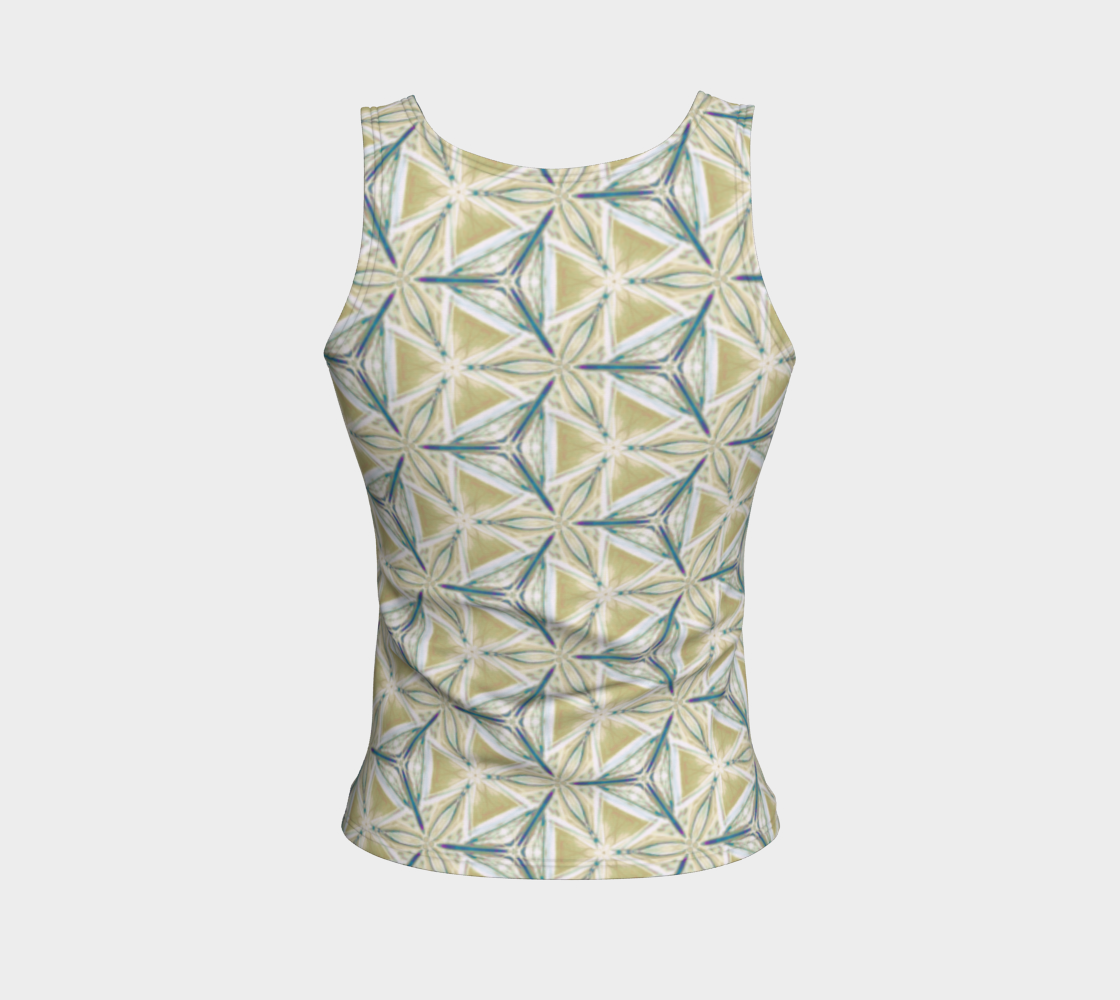 Avocado Pattern Fitted Tank Top preview #2