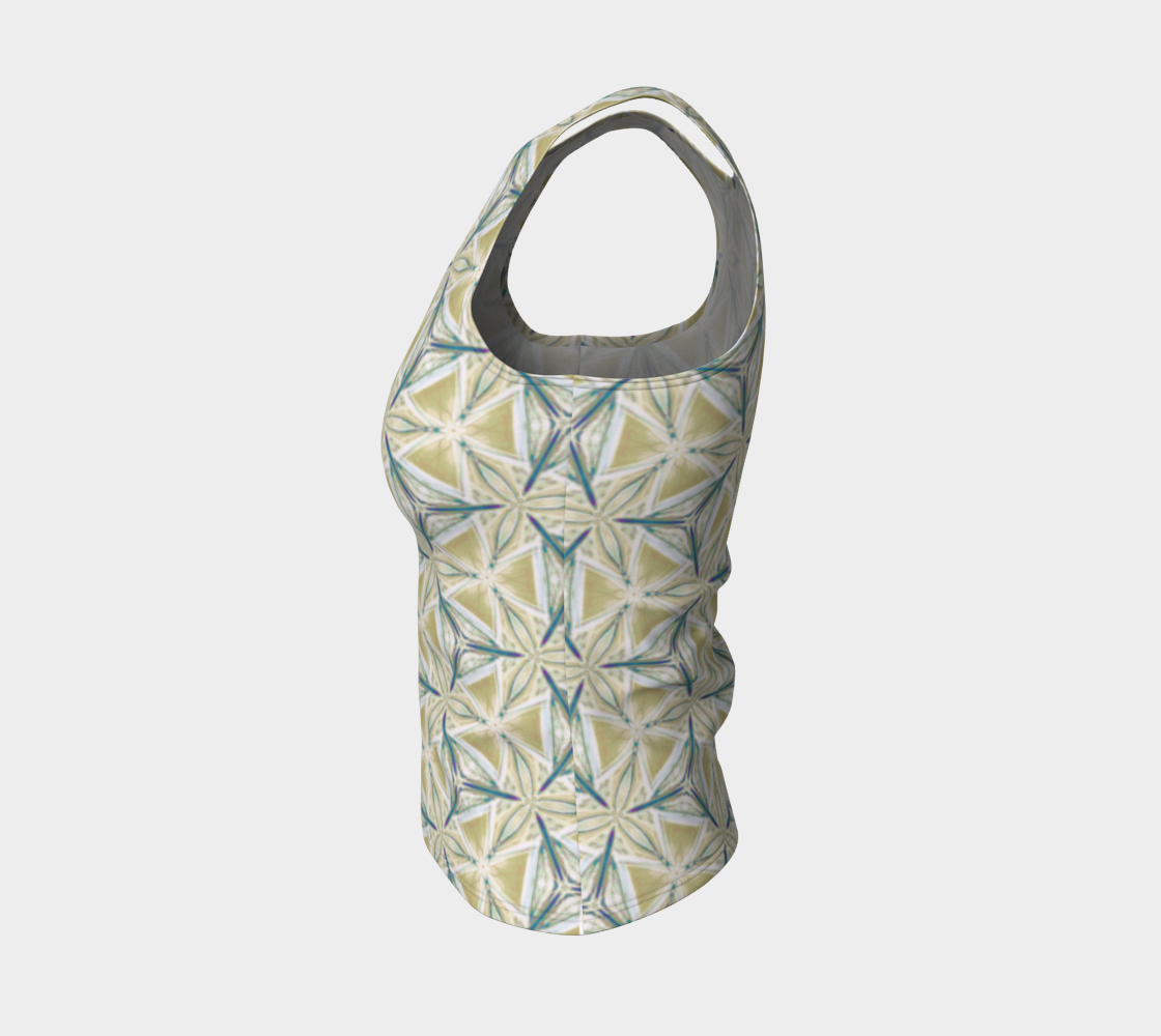 Avocado Pattern Fitted Tank Top preview #3