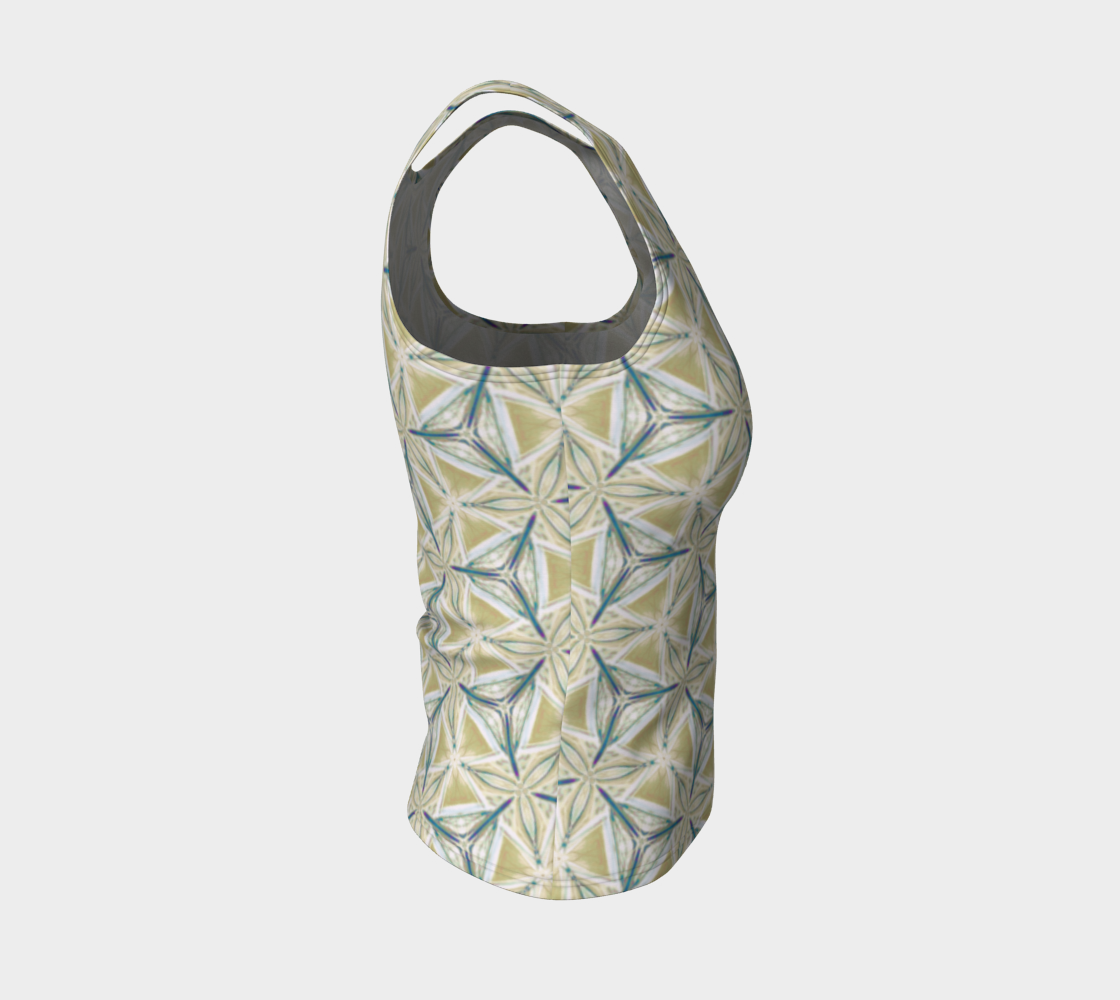 Avocado Pattern Fitted Tank Top preview #4