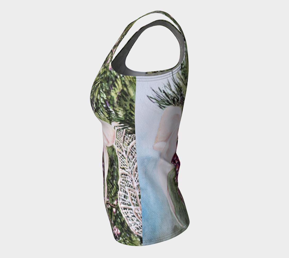 Pine Cone Fitted Tank Top preview #7