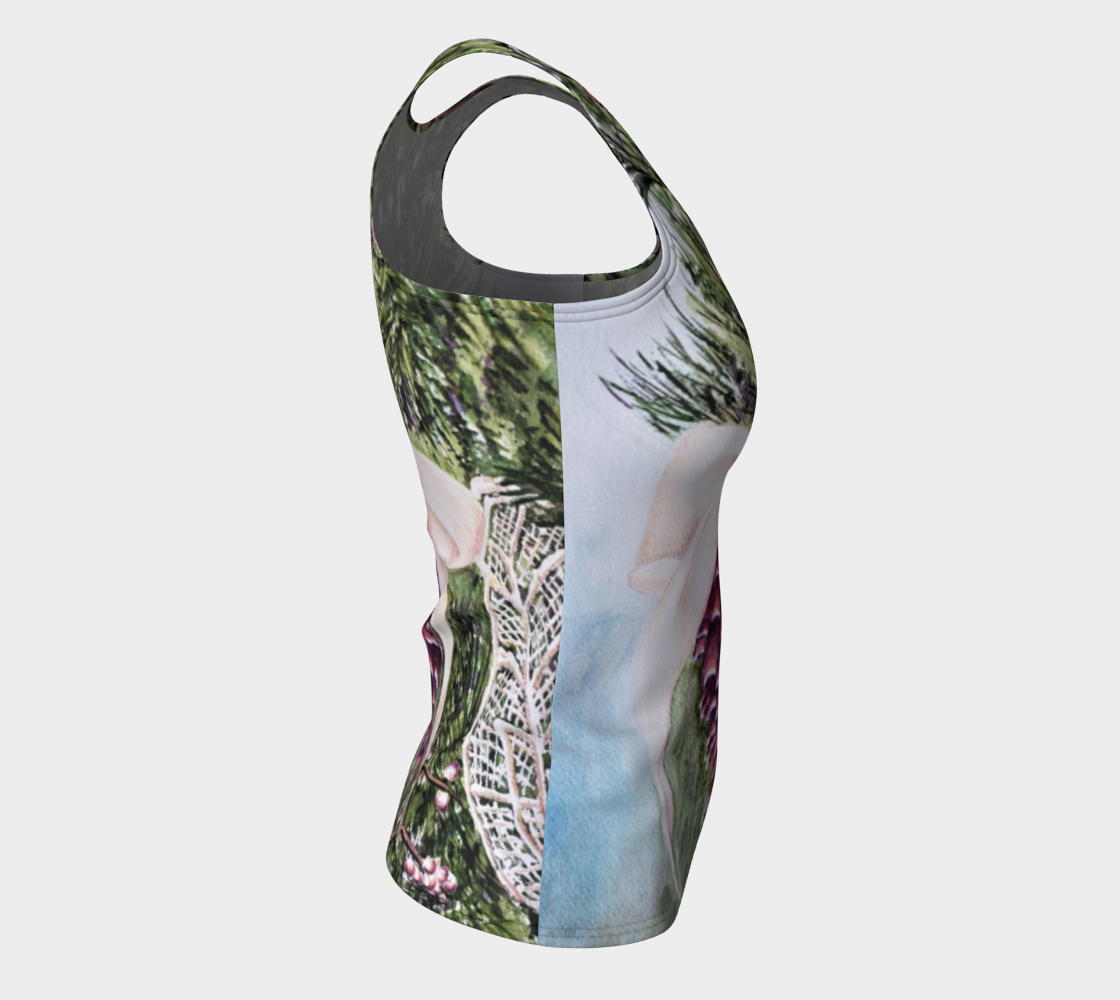 Pine Cone Fitted Tank Top preview #8