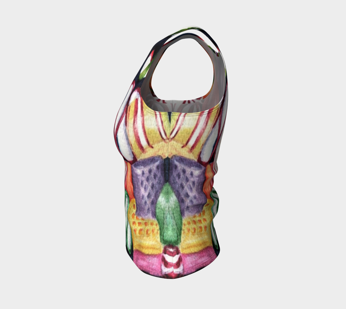 Candy Land Fitted Tank Top preview #3