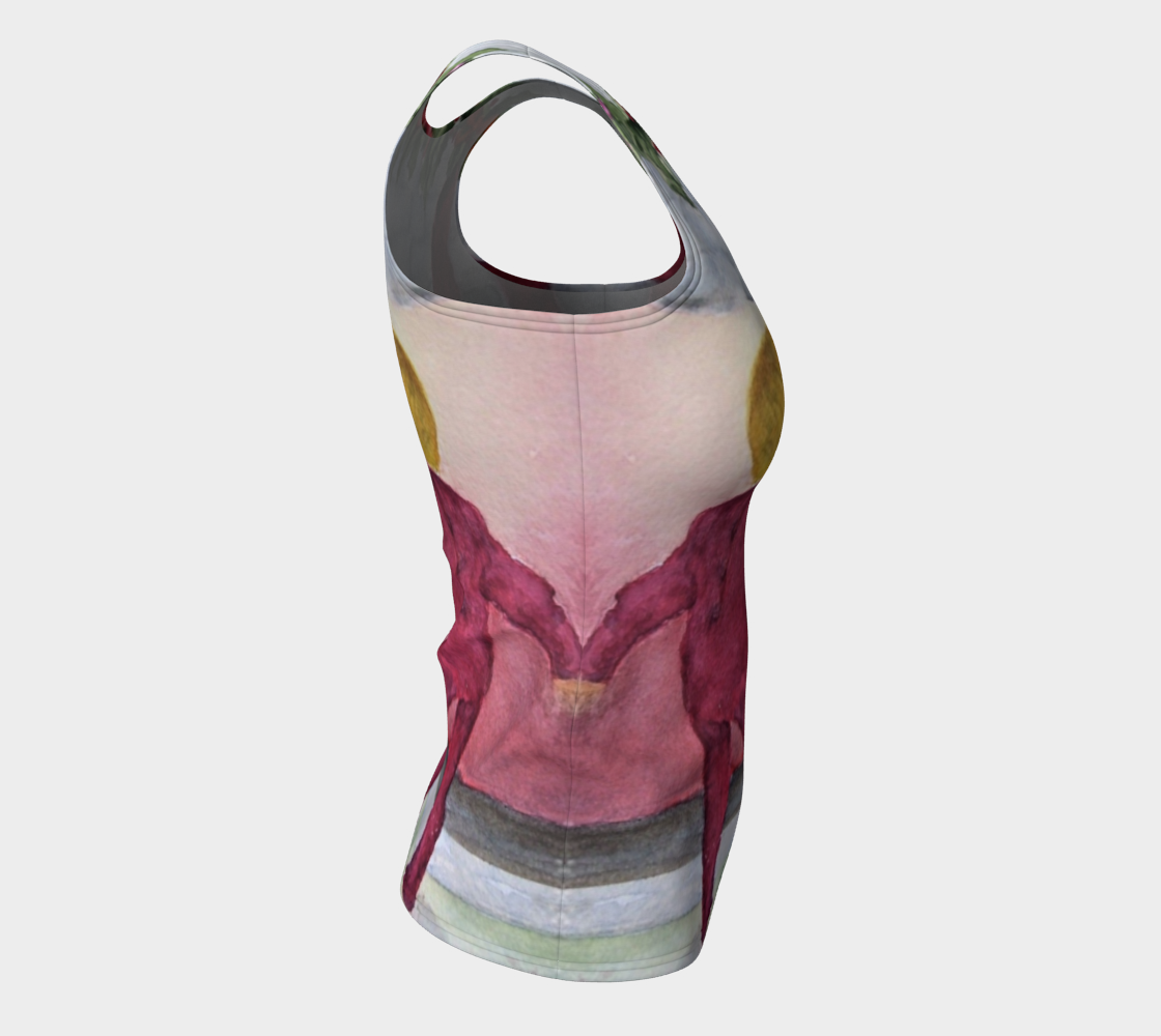 Christmas Eve Fitted Tank Top preview #8