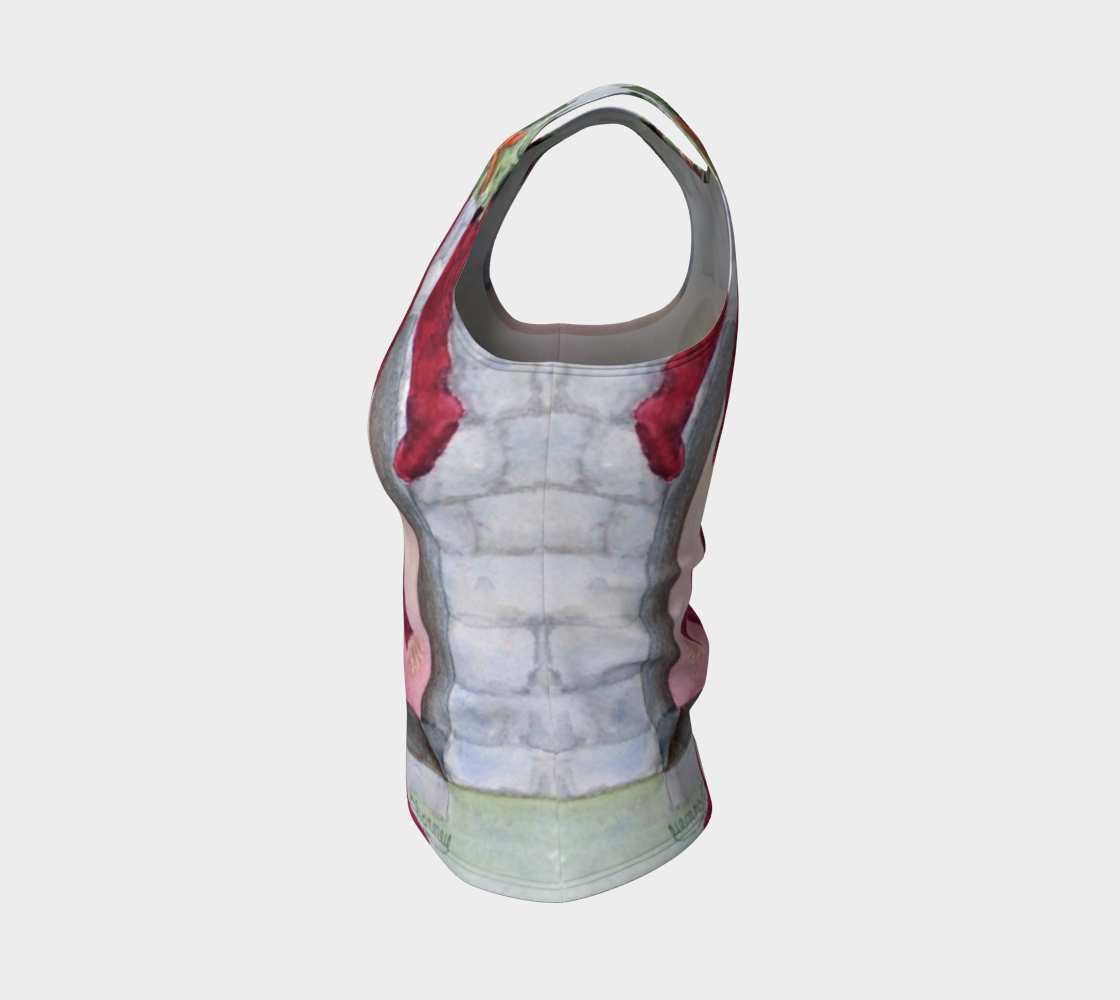 Christmas Eve Fitted Tank Top preview #3