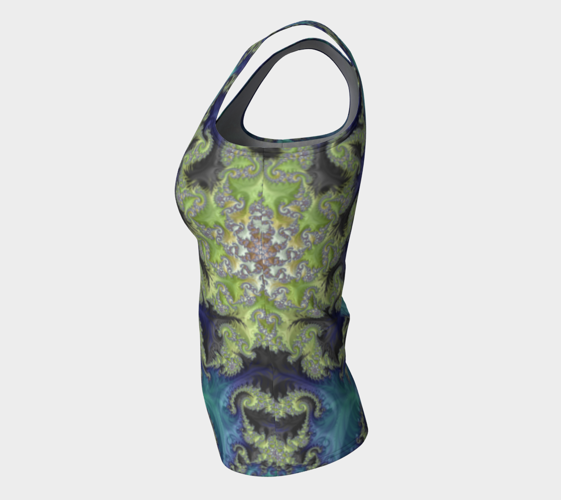 Moss Island Fitted Tank Top preview #7