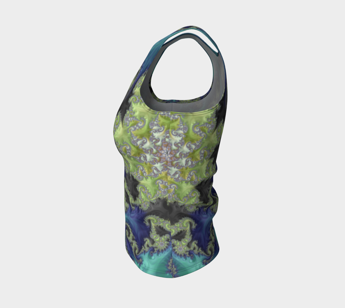Moss Island Fitted Tank Top preview #3