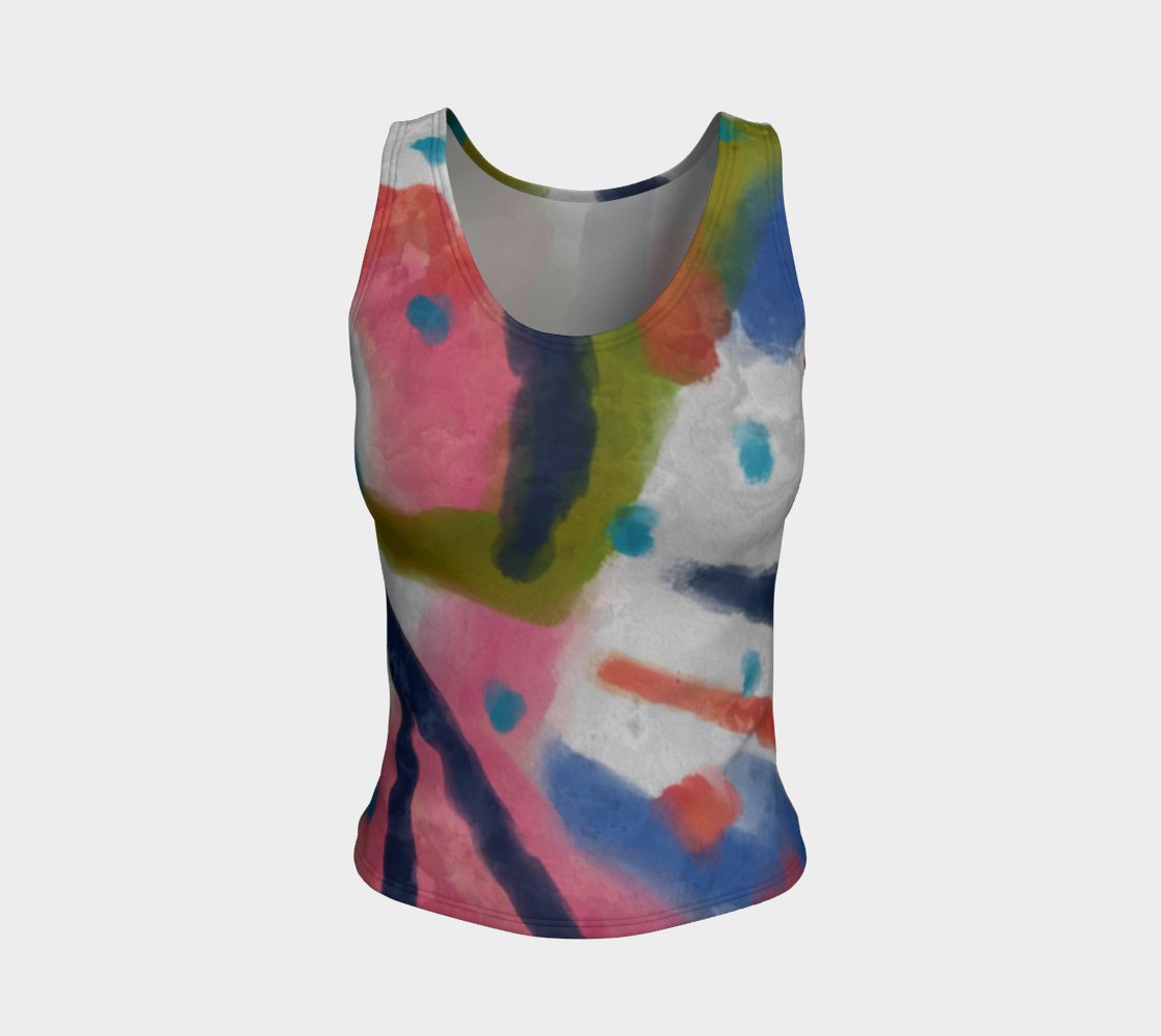 Aperçu de Original Abstract Art All Over Print Tank Top