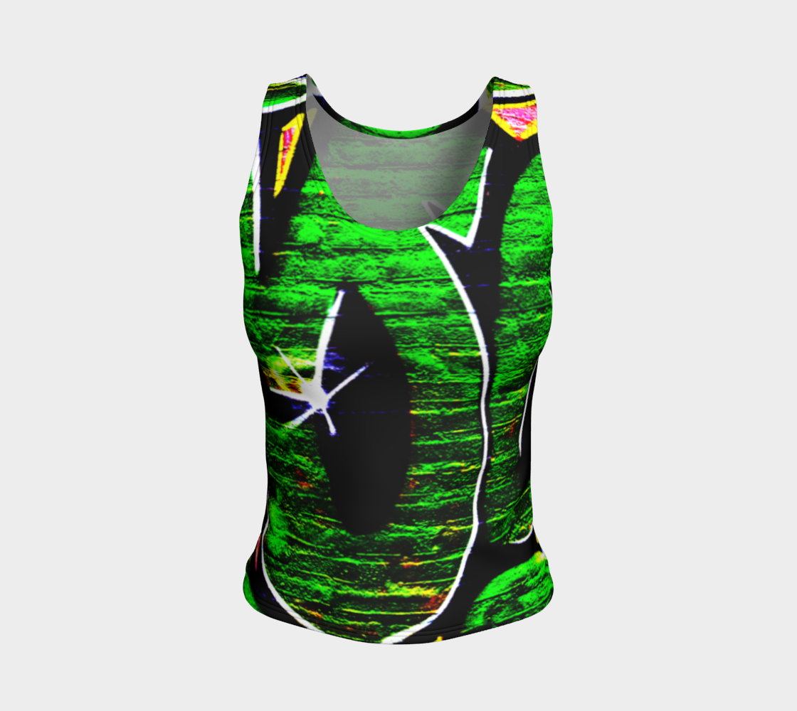 Graffiti 18 Fitted Tank Top preview