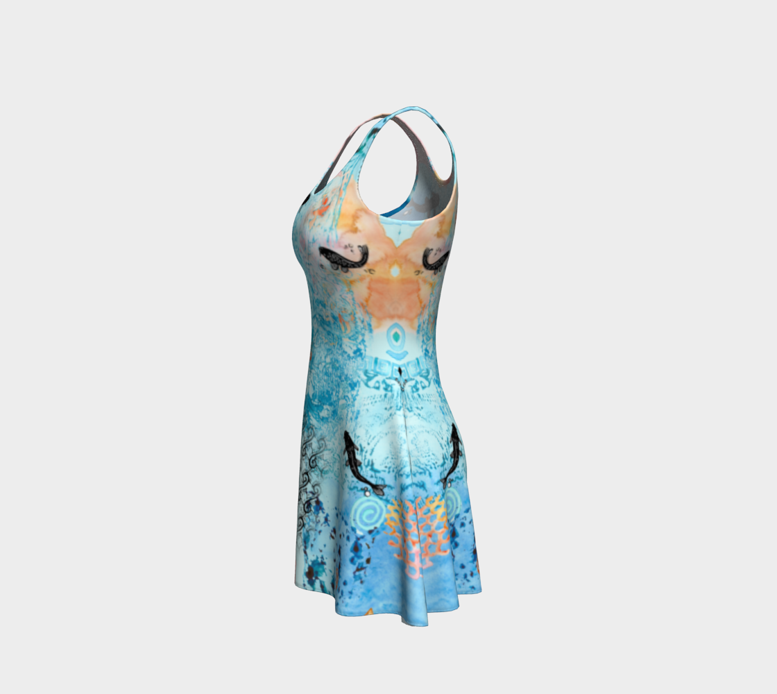 River of Paradise Flare Dress preview #2