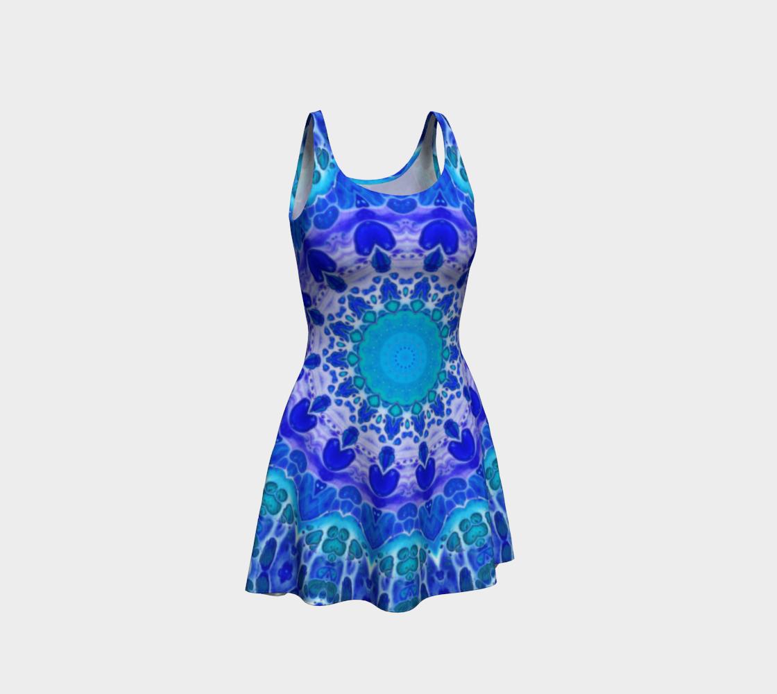 Azure Flower Mandala preview