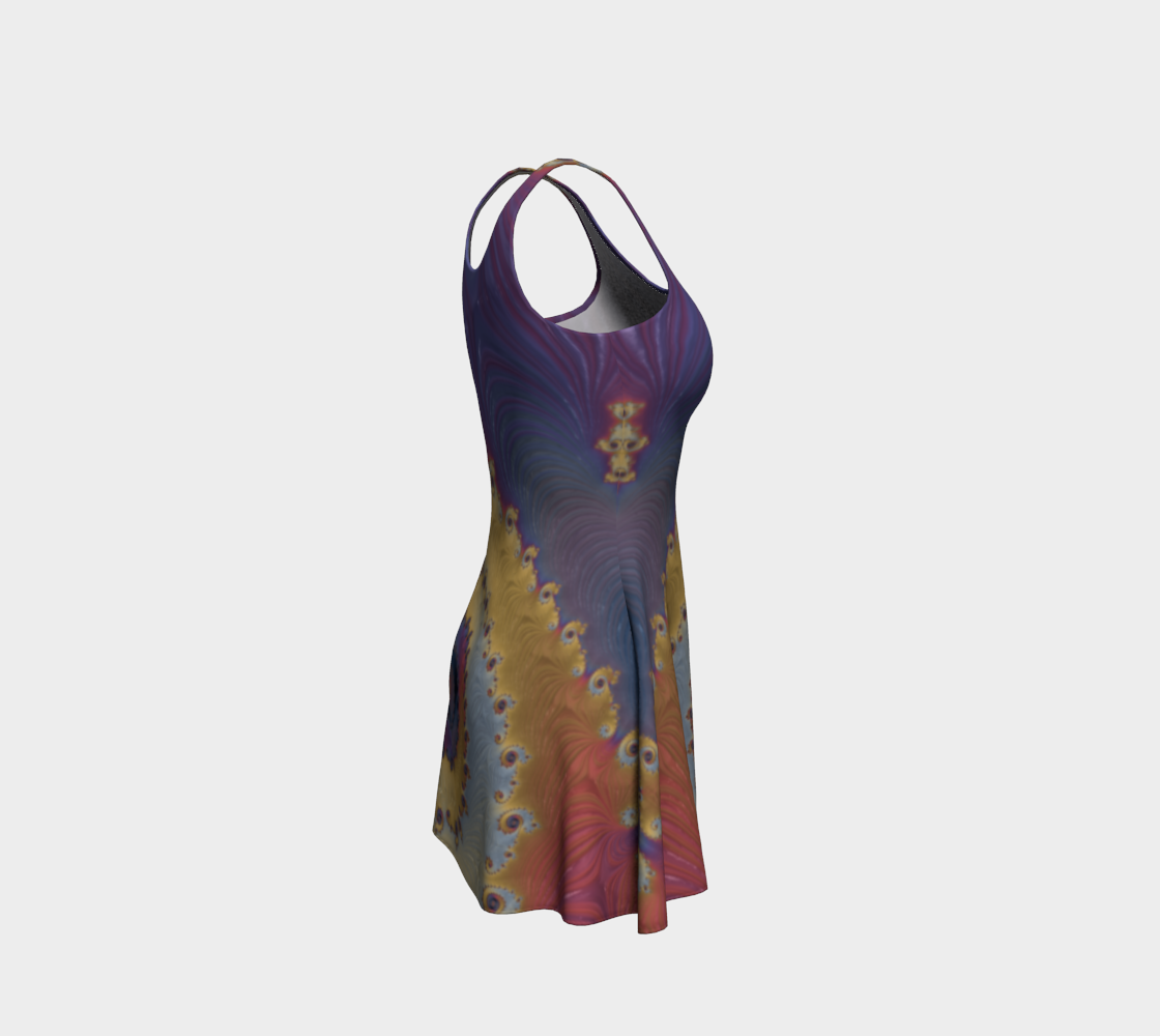 Nebulous Flare Dress preview #4