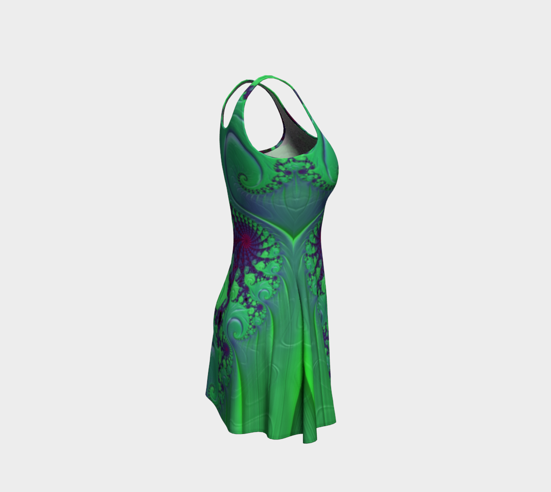 Euphoric Seahorse Flare Dress preview #4