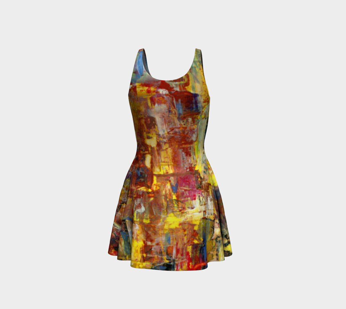 Nightlife Flare dress preview #3