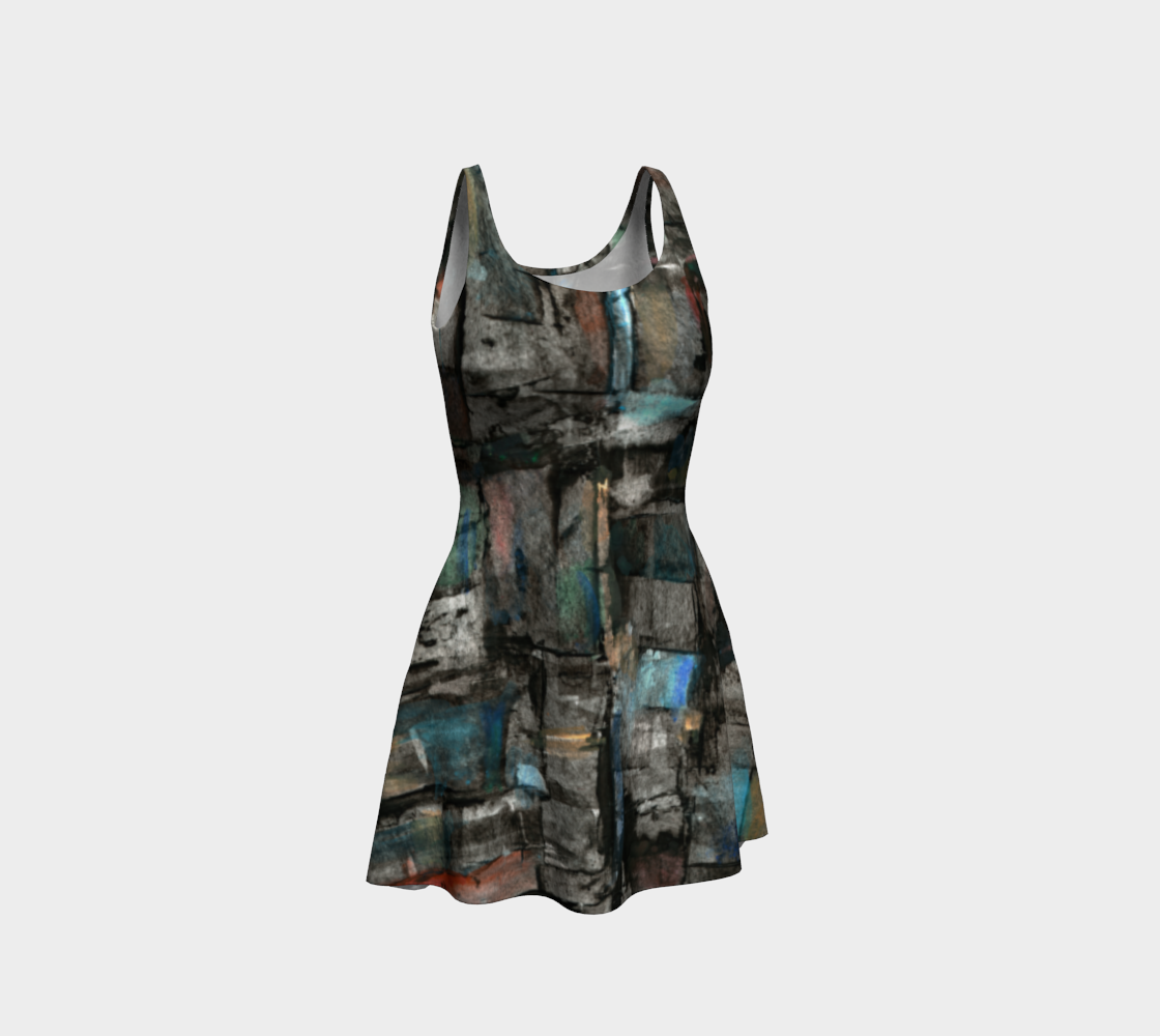 Ancient Ruins Flare Dress preview