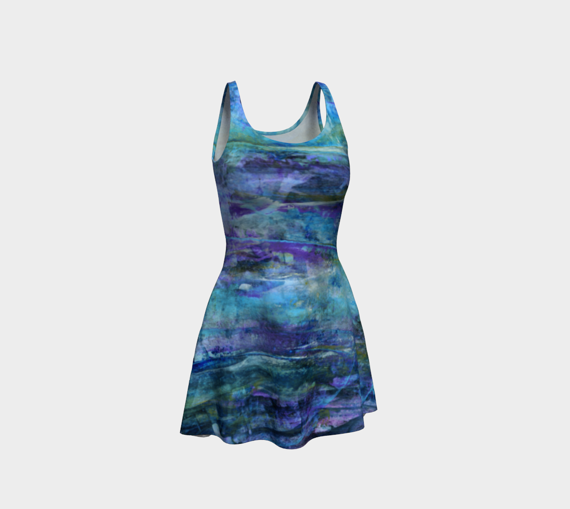 Foggy Night Flare Dress preview