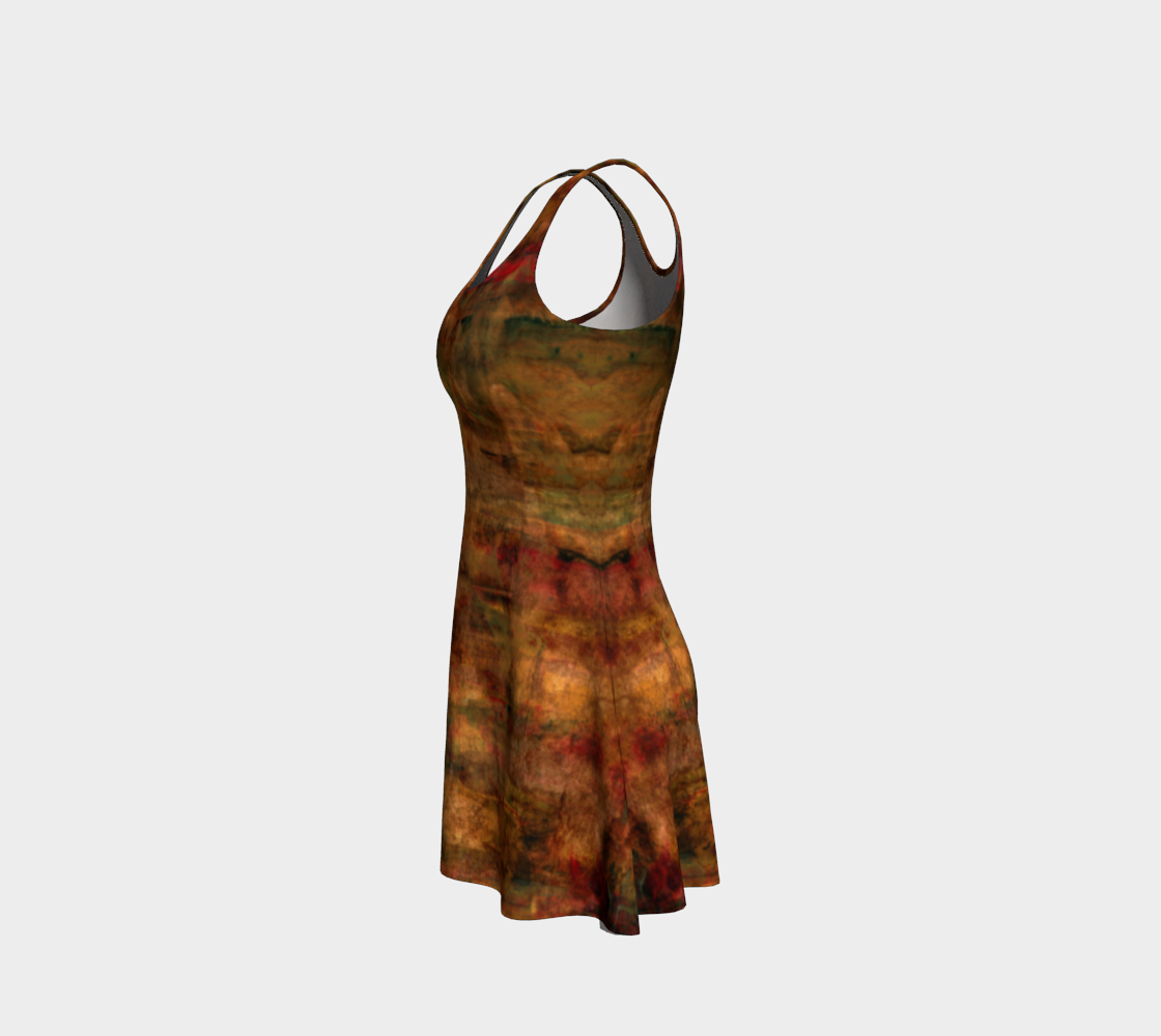 Persian Night Flare Dress preview #2
