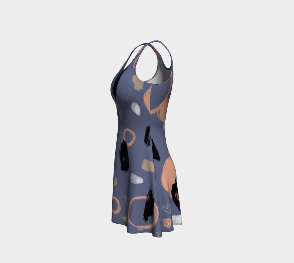 Robe évasée cool abstrait  preview #2