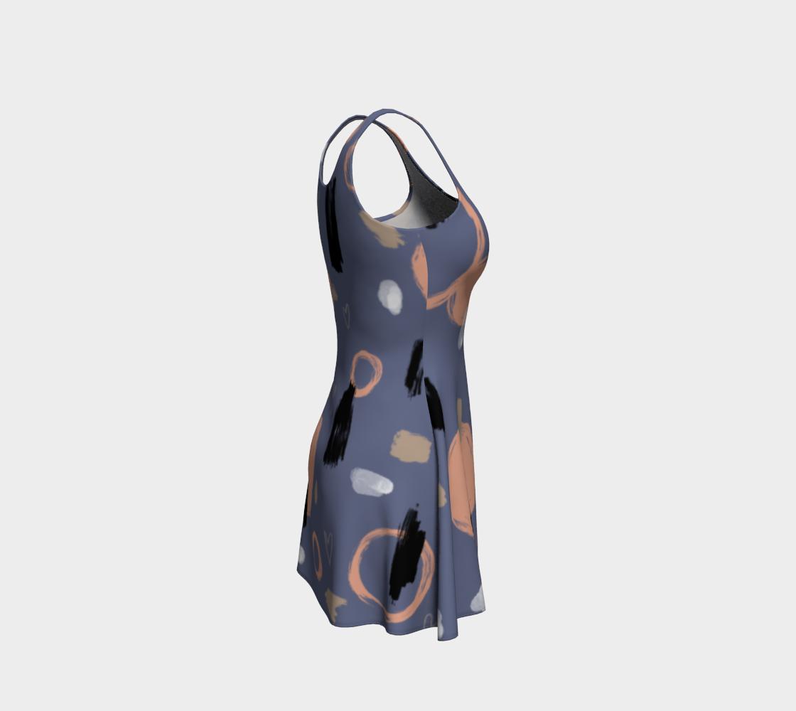 Robe évasée cool abstrait  preview #4