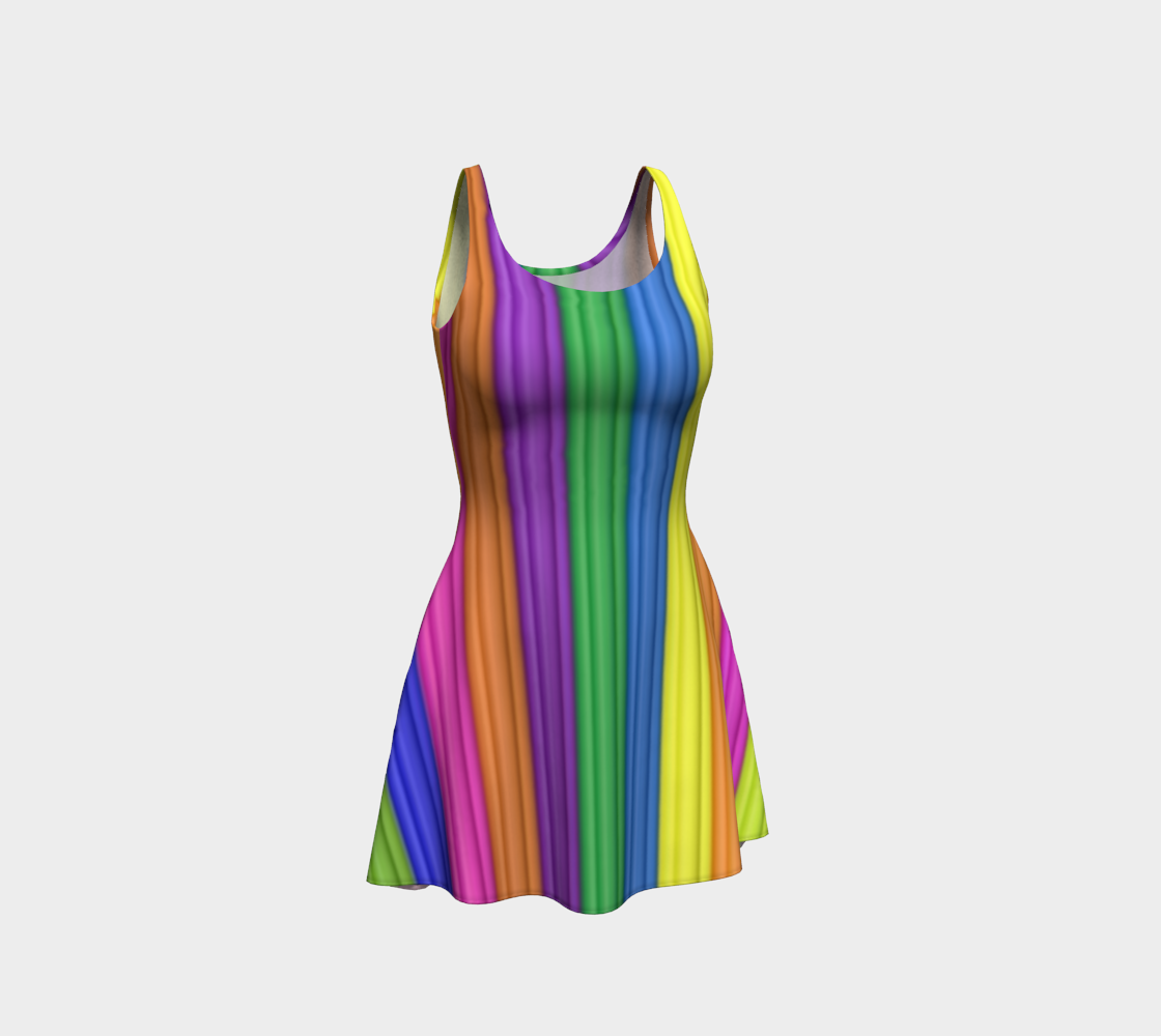 Rubber lines Rainbow  preview