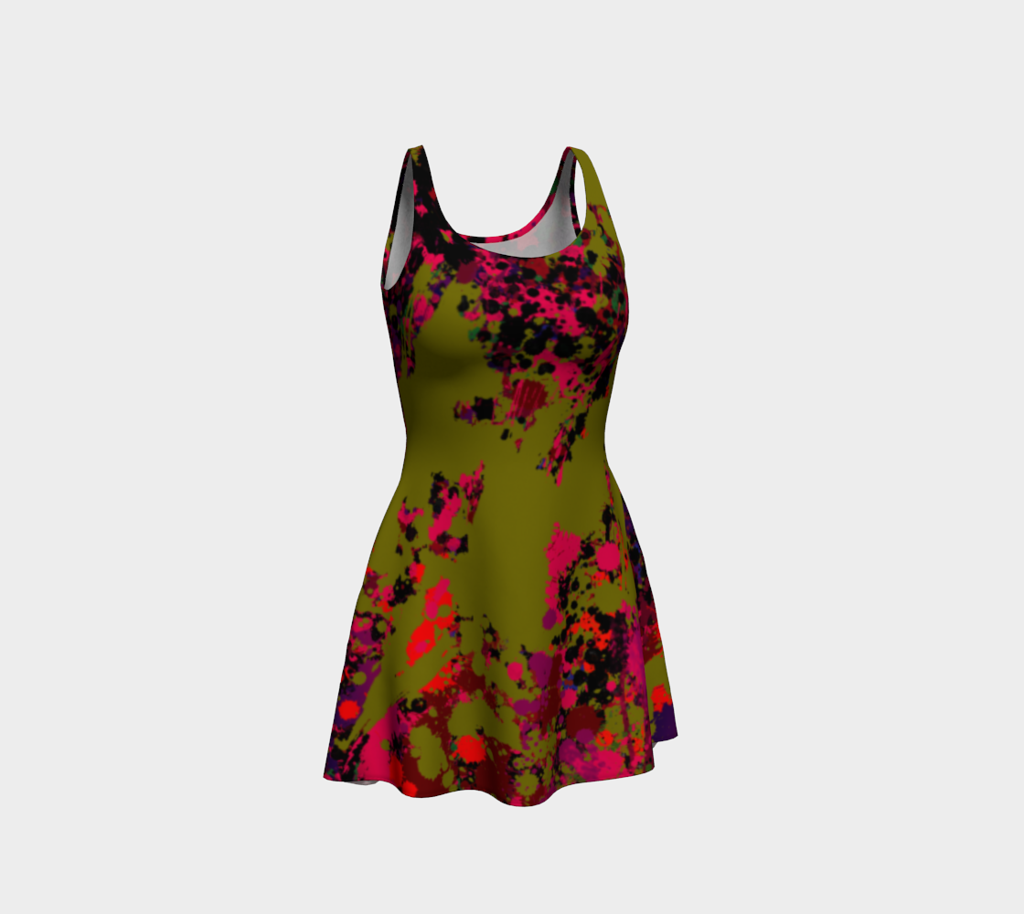 POISON IVY FLARE DRESS preview