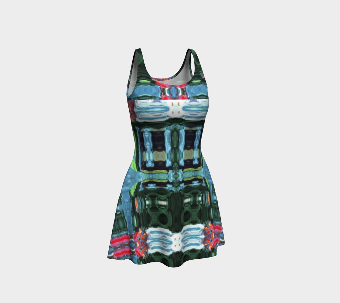 Swansea Jukebox-Look Flare Dress preview