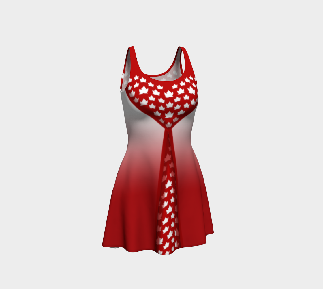 Canada Dresses Stylish Flared Canada Dress preview