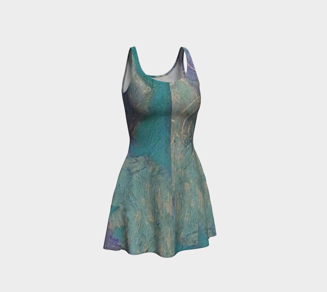 Sea at Dusk / Stone-Sky Ocean Dress preview