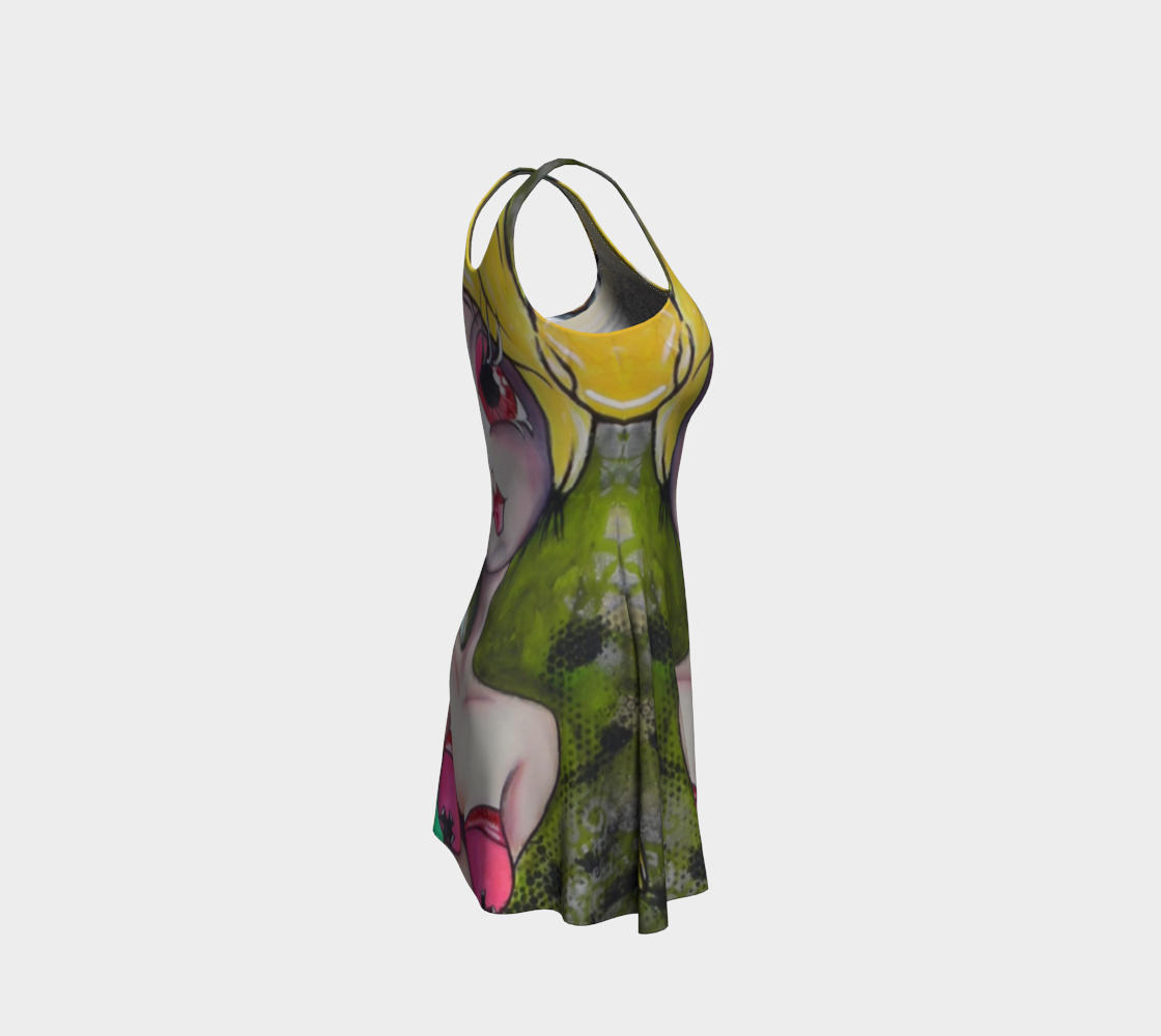 Show Me Where it Hurts flare dress preview #4