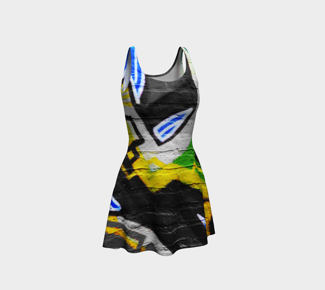 Graffiti 6 Flare Dress preview