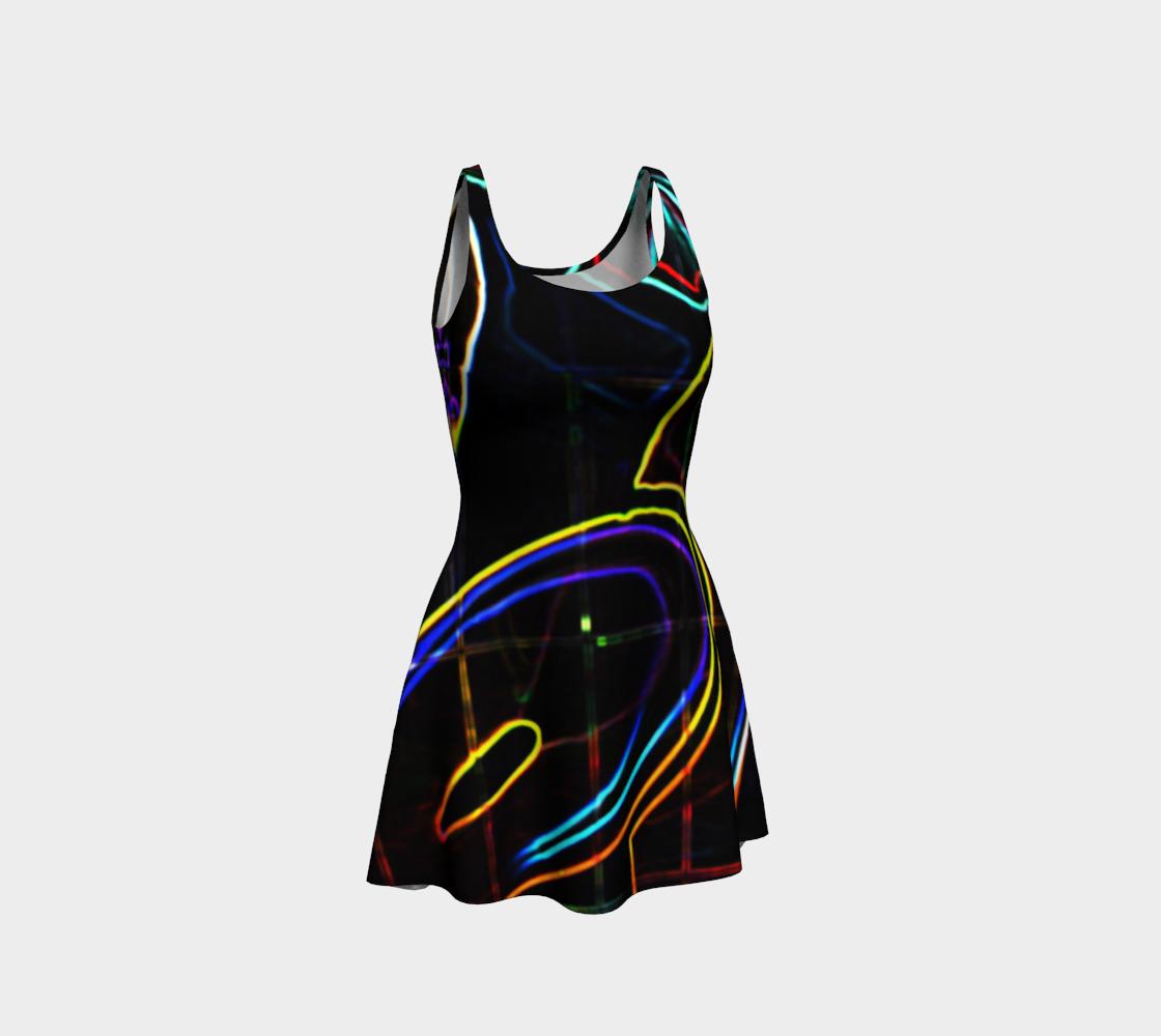 Graffiti 10 Flare Dress preview