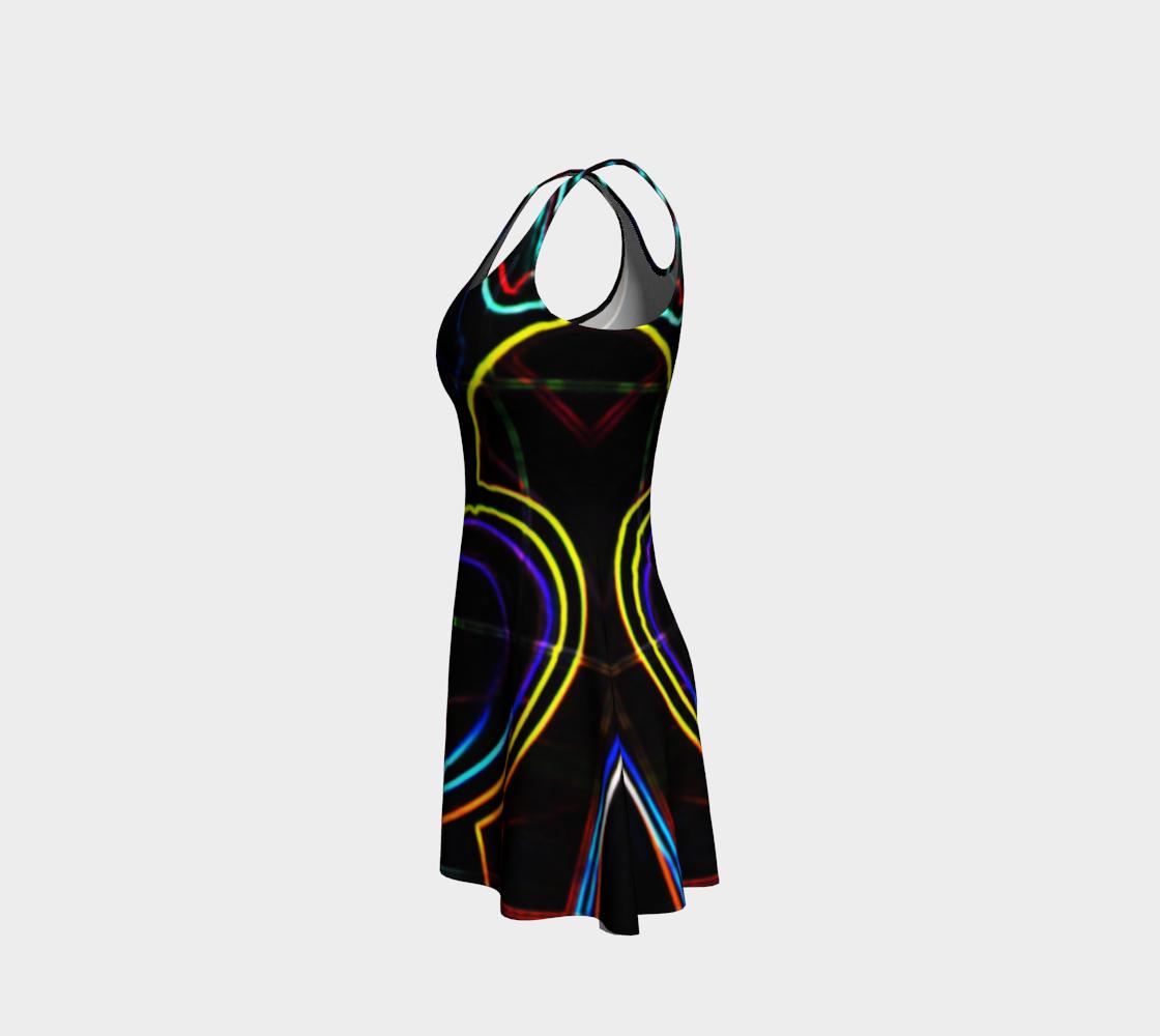 Graffiti 10 Flare Dress preview #2