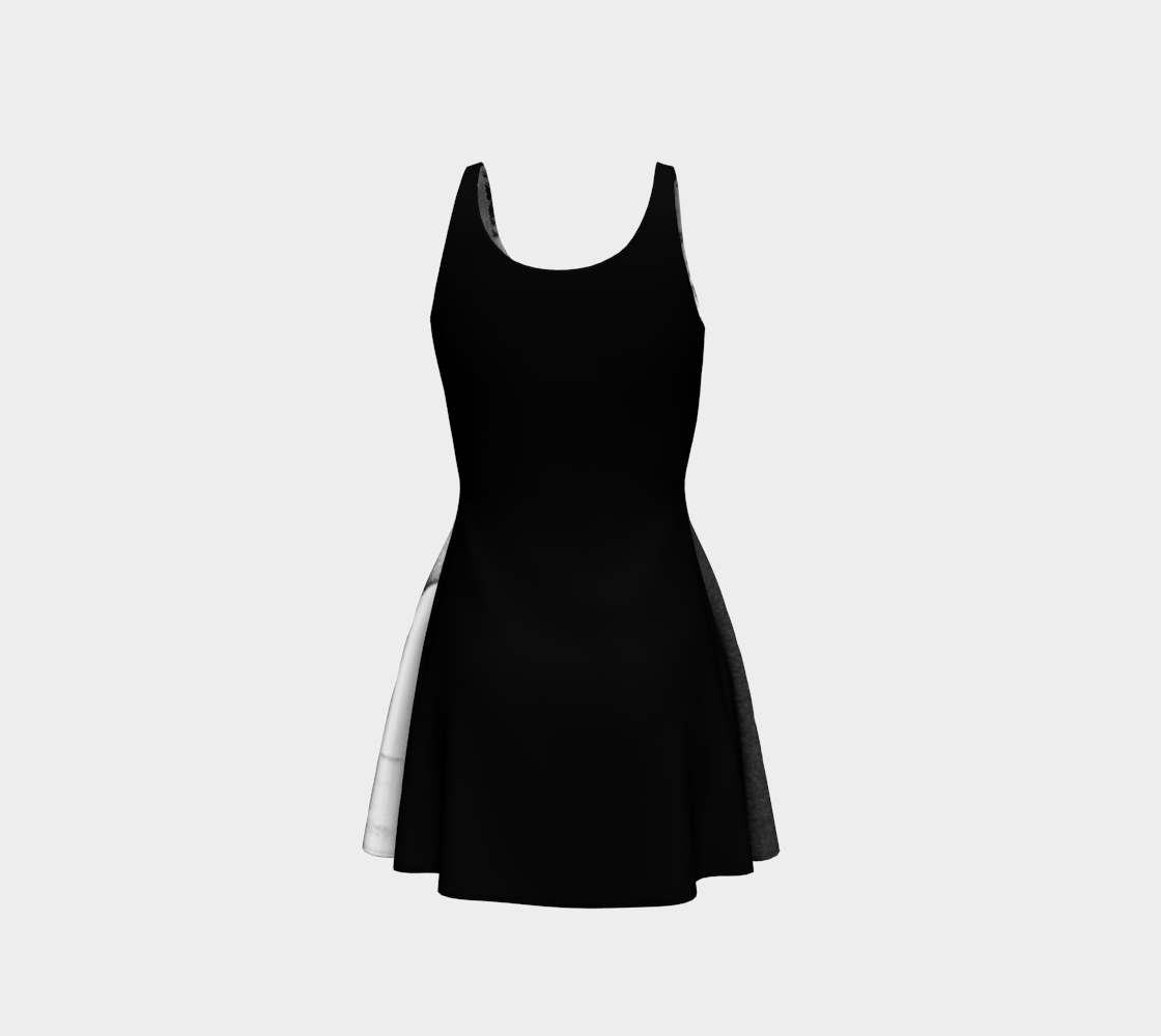Clown 3 Flare Dress preview #3
