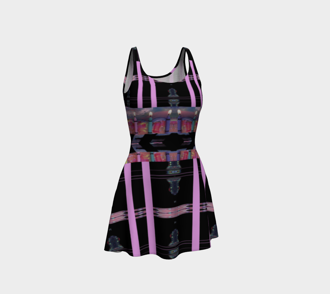 Candle-Belt Dress (Only Upper Tier Lit) preview